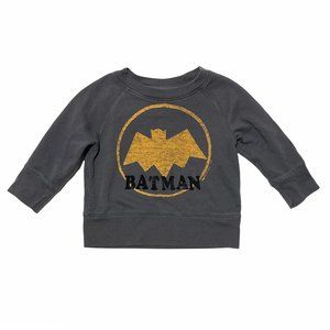 Baby Gap x Junk Food Grey Batman Sweatshirt